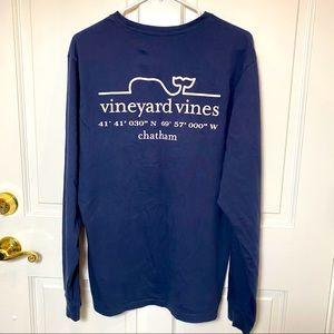 Vineyard Vines Long Sleeve Tee Cape Cod Chatham